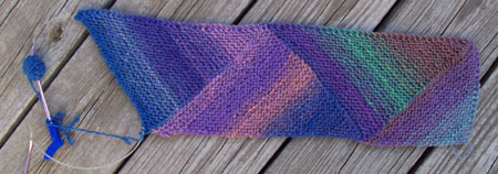 Knitting Pattern For Multi Directional Scarf : Sarahs Craft Closet